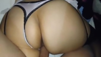 sizzling latina lady gets fucked in their great butt