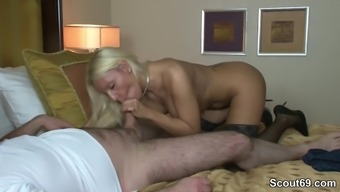 Heated German Escort Fuck old Adult man in Resort for the money