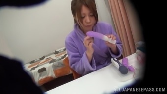 Hidden Cam Gets This Homemaker Masturbating Alone