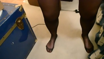 Enclosed in Pvc Pantyhose Genital masturbation Part 2