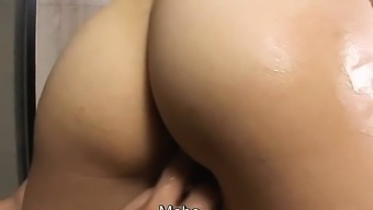 Subtitled uncensored well-known JAV touching and sexual contact