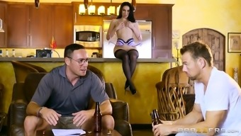 aria alexander is attracting her husband's good friend