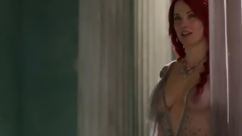 Lucy Lawless Spartacus Compilation