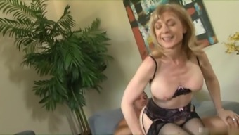 Nina Hartley looks like a librarian back with her eye-glasses on but whereas dressing