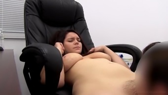 Full-figured damsel Mira explodes her dress for a intercourse session
