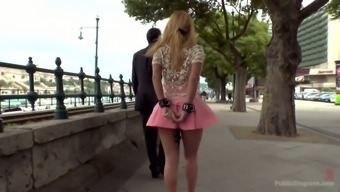 Leggy babe briefly skirt Isabella Clark is punished and fucked in government departments