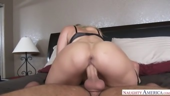 heavenly grow older tramp julia ann gets crushed and jizzed on colossal titties