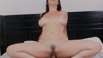 Arranged MILF Dana DeArmond is up for some passionate dick cycling performance
