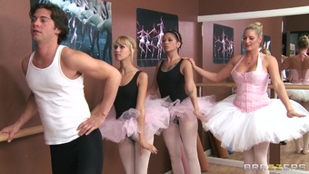 Attractive stud fucks his ballet master Ms. Zoey Excursion