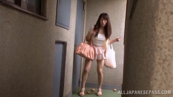 japanese people companion gets her pussy drilled in intense real life