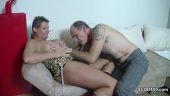 Horny German Grand father Hook Young adult to Fuck by using Him