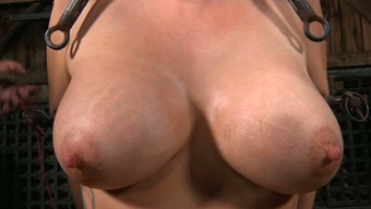 Great boobed surrounded spiteful lady must undergo like she s in torture