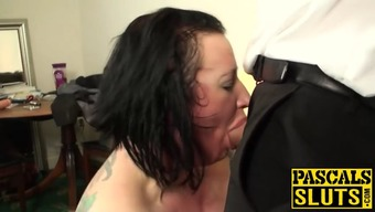 Needled on Big beautiful woman fat ass milf hobo gets her animal based proteins openings crammed