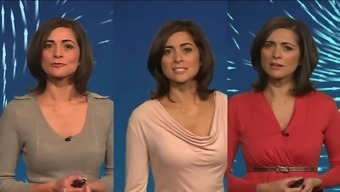 Lucy Verasamy Shiver Off Challenge