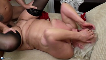 Mature moms fucked by not their own boys