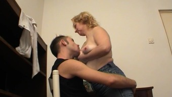 Complete diva along with hot ass pissing in her man entrance excitedly