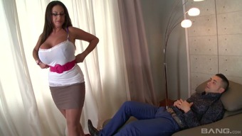 Statuesque psychologist Emma Booty fucks her client like there isn't any in the new tommorow