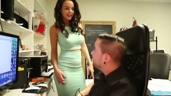 Dillion Harper is very good at sexually fit her workaholic guy