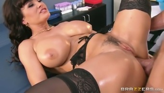 Oversexed dark milf gets her crimson fucked in puppy and christian missionary assignments