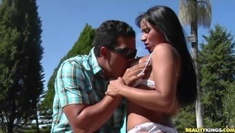 RealityKings - Mike in Brazil - White colored Sizzling