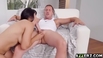 attractive partner mia li gets a steaming sex by using co-worker