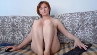 Russian momma great tits and wonderful pussy