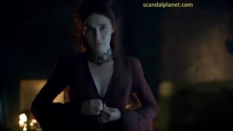 Carice Truck Houten Bare In Game of Thrones ScandalPlanet.Com