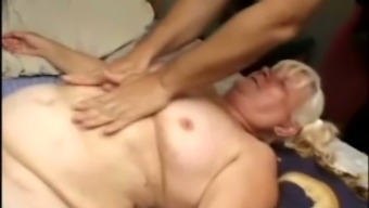 Fat blond granny Vicky Salas gets her horrible fuzzy twat drilled very difficult