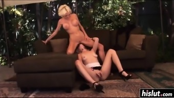 Sizzling lesbian blondes go and do some sixty-nine