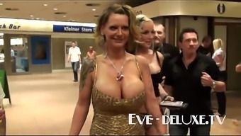 Eve Deluxe substantial tits provided tittyfuck
