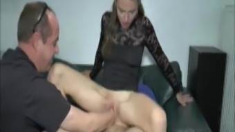 Young adult love twice closed fist and cock intrusion