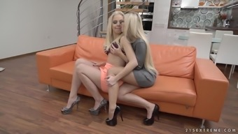 blondies dido angel and julia parker touching and undressing one other