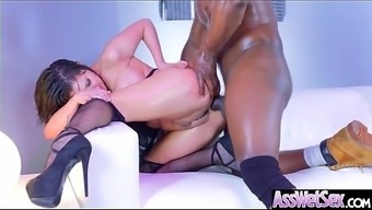 Big Ass Krown (Aleksa Nicole) Get Oiled Up And Hard Analy Nailed On Cam mov-04
