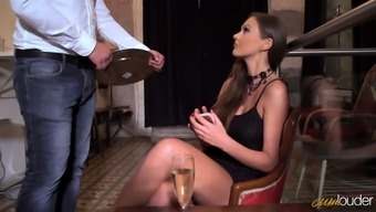 Tense asshole of congenial The united kingdom hottie Tina Kay must have of boner prick