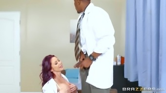 Monique Alexander and Ivy Lebelle wish to experience a dark colored dude's dick