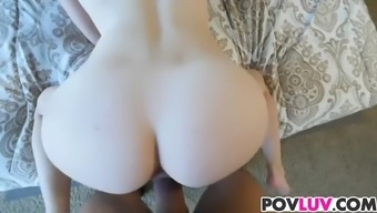 Thin krown Alice March takes major cock