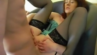 Perverted grandmothers love having anal sex and body