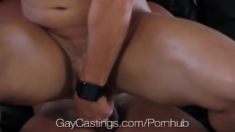 Hdtv GayCastings - Muscle mass south texas lad fucked on chosing settee
