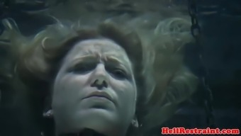 Bonded sub flooded and toyed upside down