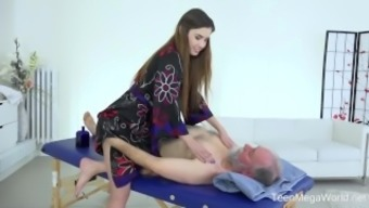 Old-n-Young.com - Elle Increased - Intriguing full body massage