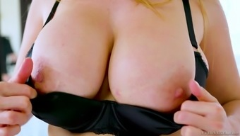 Astounding Kianna Channel can't be delighted with just 1 cock now