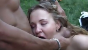 Orgy fucking with dirty youngsters