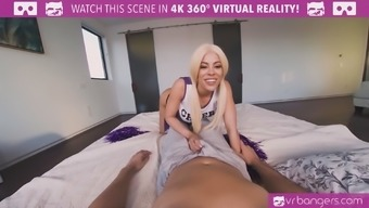 Youngster cheerleader Luna Stars fucked
