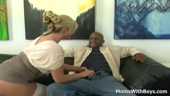 MILF Phoenix Marie No Panty Interracial Intercourse