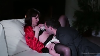 Fascinating milf Dana DeArmond is having ridiculous sexual intercourse along with friends husband