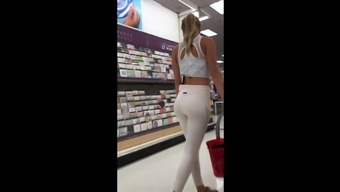 Fit Blond in White Cardio Jeans