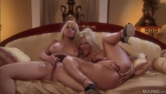 There is nothing better for Angie Savage than a lesbian sensual sex