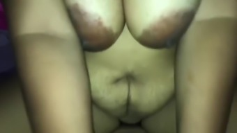 Pregnant Thai Mom with Big titts