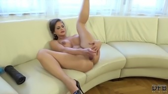 Interracial gangbang milf getting her holes drilled hard