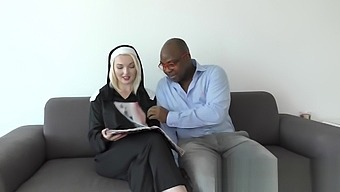 Nun Getting a Black Cock